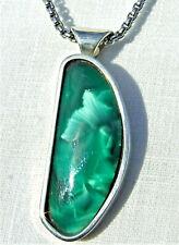IMORI STONE/ VICTORIA STONE and sterling silver pendant, HANDMADE