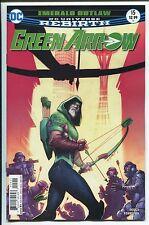 GREEN ARROW #15 - JUAN FERREYRA REBIRTH ART & COVER - DC COMICS/2017