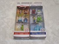 Jada Toys Nano Metalfigs Pack A & B Disney DC Exclusive Lot of 2 Action Figure