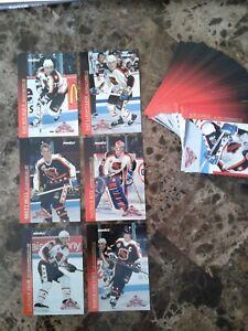 1993-94 PINNACLE ALL-STARS COMPLETE 45 CARD INSERT SET