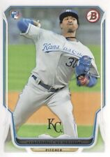 2014 Bowman Baseball #85 Yordano Ventura RC Kansas City Royals