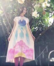 NEW $350 Rainbow Kimono Emergence Dress Tea Dyed Size S/M Small Medium