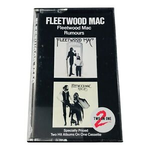 Fleetwood Mac Fleetwood Mac & Rumours Double Album Cassette