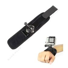 360 Degree Rotation Wrist Hand Strap Band Holder w/ Mount for GoPro Hero 5 4 3 2