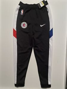 NIKE NBA LA Clippers Tear Away Therma Flex PE Game Pants CD5485-010 Mens S Small
