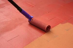 Bodenfarbe für Garage Keller Werkstatt Betonfarbe außen innen seidenmatt