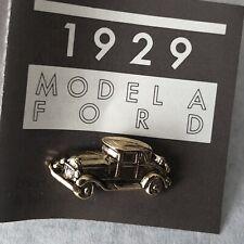 Vintage Avon Pin 1929 Model A Ford Dream Car 1985 Tie Tack