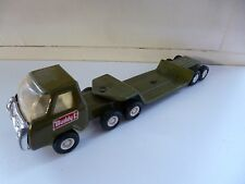 Truck with Lowbed Trailer - Buddy L - Green - Japan
