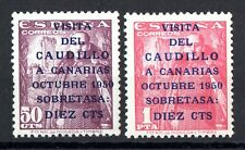 AÑO 1951 EDIFIL 1088/89 NUEVO CON GOMA Y SIN SEÑAL DE FIJASELLOS