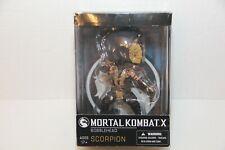 Mezco Toyz Mortal Kombat X Scorpion Bobble Head