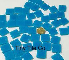50pcs Blue Glass Mosaic Tiles