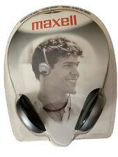 Vintage Maxell HP-200 Lightweight Stereo Headphones