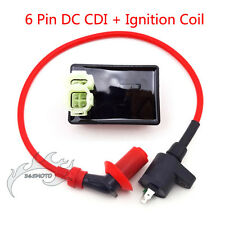Ignition Coil 6 Pin DC CDI For Kymco SYM Vento GY6 50 125cc 150cc Moped Scooter