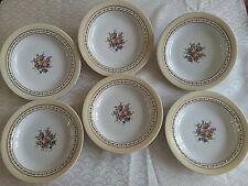 6 assiettes creuses   Porcelaine de LIMOGES   Raynaud & Cie