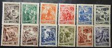 YUGOSLAVIA - WORKERS 1950 MI: 628 - 639 MNH
