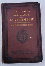 Guide-Formulaire de la Gendarmerie dans l'Exercice de ses Fonctions de Police...