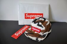 Supreme 5 Panel Snap Back Box Logo Camo Stone Camp Island maglietta Hoodie COW CD