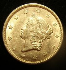 1853 G$1 Gold Dollar. High Grade