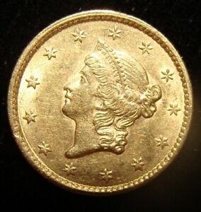 1853 G$1 Gold Dollar. High Grade!