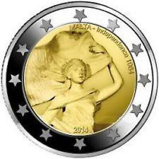 5x2 EURO GEDENKMUNZE MALTA 2014