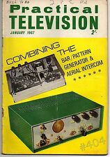 Practical Television Magazine January 1967 For FULL Contents see Listing Images