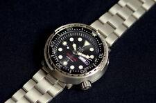 TPS-Tempus Pro Diver Titanium made ! Seiko Tuna diver watch