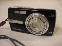 OLYMPUS STYLUS 830 DIGITAL CAMERA w/ BATTERY & 2GB MEMORY CARD