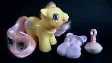 Tumbleweed Newborn Pony With Accessories G1 Vintage My Little Pony