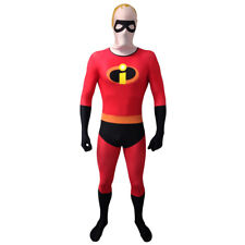 Disney Pixar Mr Incredible Adult Unisex Cosplay Costume Morphsuit Medium Multi