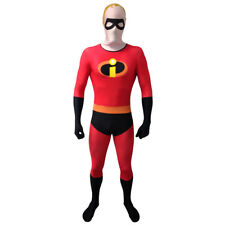 DISNEY Pixar Mr Incredible Adult Unisex Cosplay Costume Morphsuit, Medium