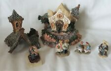 """New listing Boyds Bears Resin """"Chapel In The Woods"""" Bearly-Built Villages + Accessories"""