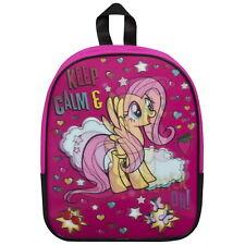 Neuf My Little Pony Sac à Dos École Sac à Dos Rose Enfant Junior Filles