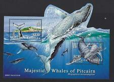 PITCAIRN ISLAND 2006 HUMPBACK WALES MINIATURE SHEET UNMOUNTED MINT,MNH