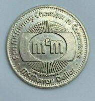 1980 Fort Mc Murray Dollar Trade Dollar Medal Token