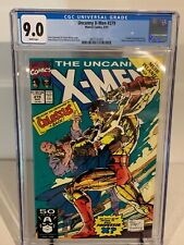CGC 9.0 1991 Uncanny X-Men 279 - White Pages - Shadow King appearance.