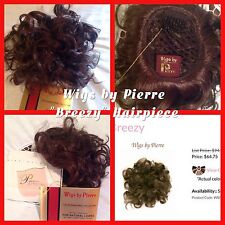 "NEW Wigs By Pierre Hairpiece ""BREEZY"" Color#33 Dark Auburn New W/Tags FREE SHIP!"