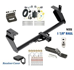 """Trailer Hitch Package Deluxe 1 7/8""""  for 2014-2018 JEEP CHEROKEE exc. TRAIL & V6"""
