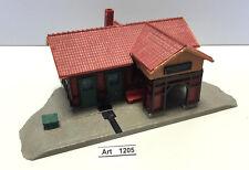 Kibri f 909 h0 menor la estación, ferrocarril estación, casa construida listo, 1:87, raramente & rar