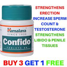 Himalaya Confido | Herbal For Strong Erections Sexual Health | 60 Tabs Natural