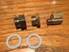 66-71 Mopar 426 Hemi Cuda Carter AFB Carburetor Fuel Line Fittings