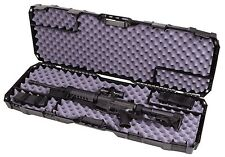 Gun Case Storage Waterproof Safety Lockable Hard Shell Rifle Firearm Scope NEW