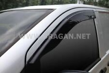 To Fit 04-14 Mercedes / Vito Viano Tinted Window Wind Rain Deflectors - Adhesive