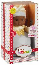Little Mommy First Snuggles Doll White My First Baby African-America Doll Toy