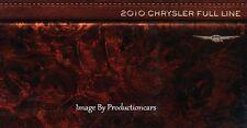 2010 Chrysler Full Line 16-page Car Brochure Catalog - PT Cruiser 300 Sebring