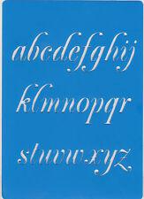 Plastic/PVC/Embossing/Stencil/Alphabet/Lower/Case/Bendy/REDUCED