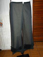 Pantalon pattes d'elephant COP COPINE ORAN 40 coton/polyester gris stretch 17JA7