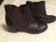 women's Naturalizer leather, ANKLE boots, N5 COMFORT Womens Sz 6.5M