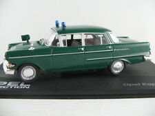"""Ixo #95 OPEL Capitano pii (1959-1964) """"POLIZIA"""" IN VERDE 1:43 NUOVO/PC-VETRINA"""