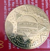 MACCOIN Big Mac 50th Anniversary Coin 1988-1998 Sealed McDonalds Collectible NEW