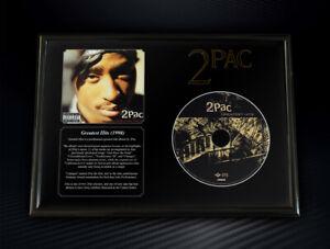 Framed 2Pac - Greatest Hits Memorabilia